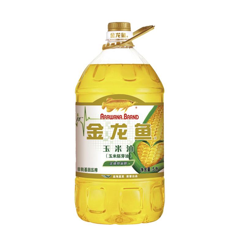 金龍魚玉米胚芽油 5L