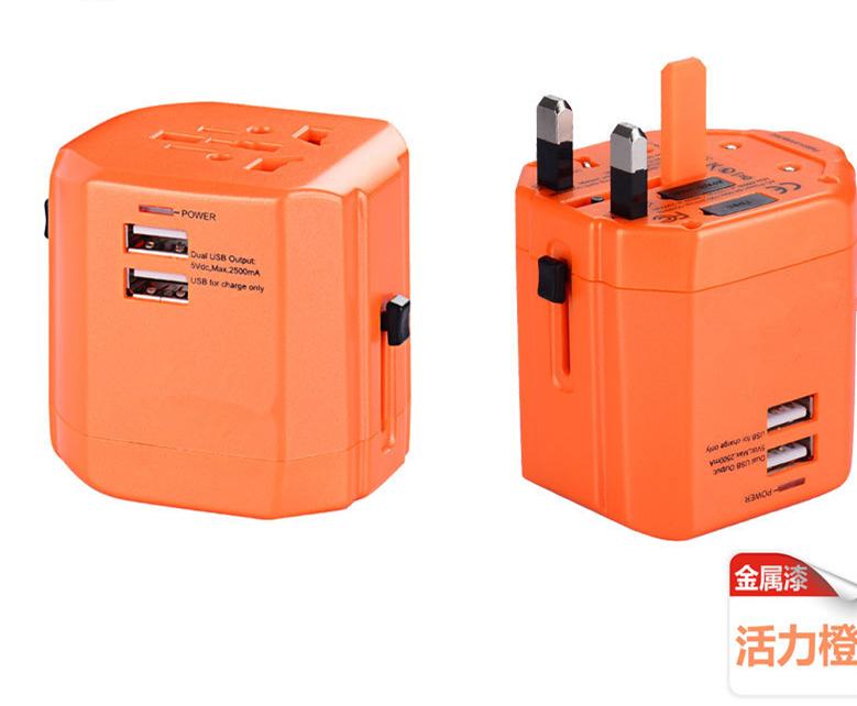 飞豚FEITUN FT-CZ04 全球通转换插座 万能转换插座 国际旅行插座