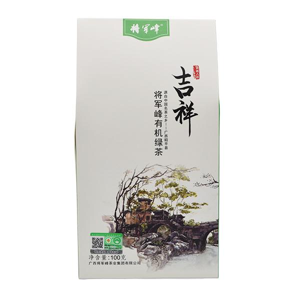 將軍峰 吉祥-將軍峰有機綠茶 紙盒裝100克