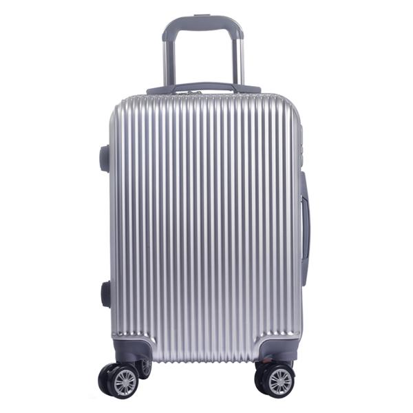 Somelove 時尚簡約瀑布紋防刮花20寸拉桿箱旅行箱YA-LGS8001