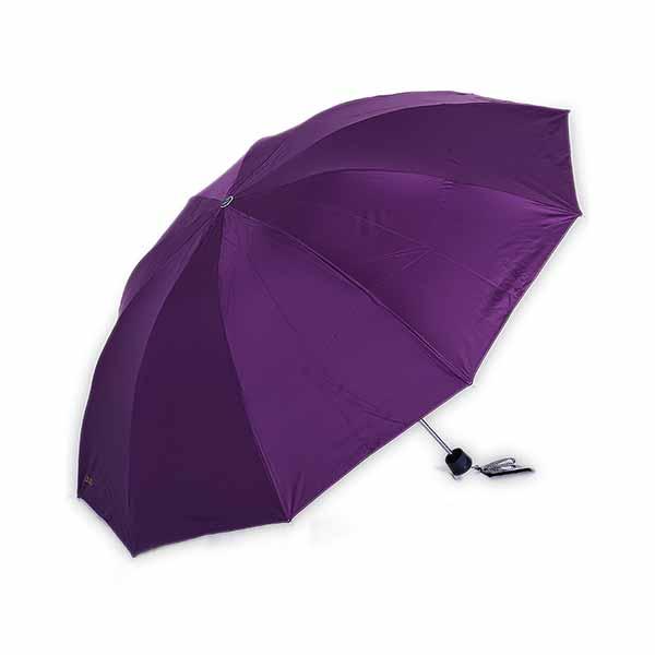 天堂傘33188E黑膠折疊加大雙人鋼骨晴雨傘遮陽傘 顏色隨機