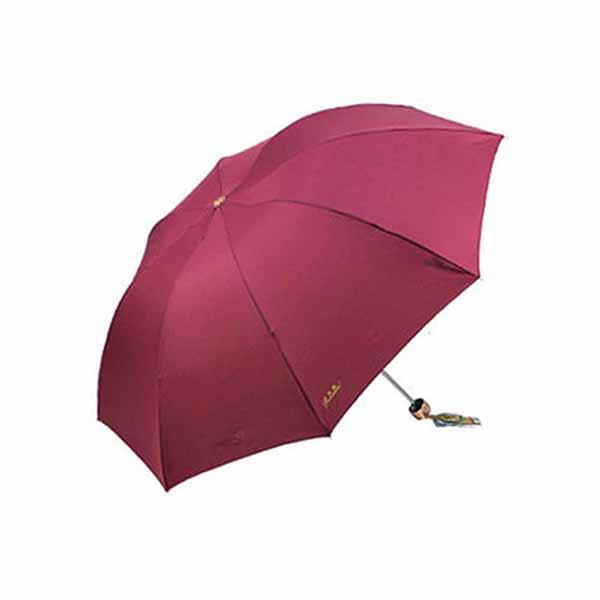 天堂傘正品307E強力拒水鋼骨晴雨傘折疊商務傘 顏色隨機
