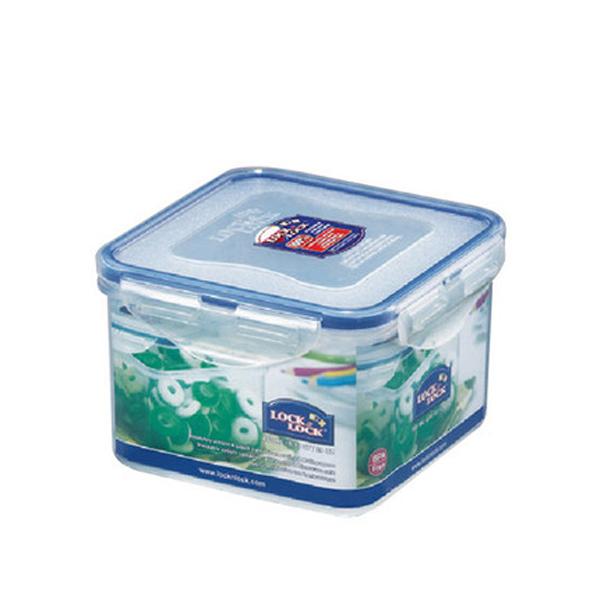 樂扣樂扣(LOCK&LOCK)保鮮盒塑料冰箱收納盒 微波小飯盒密封盒HPL855 860ML
