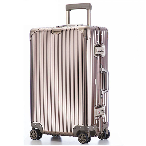 旅行之家(Travelhouse)T1879 20寸全铝拉杆箱 轻盈耐磨万向轮登机箱行李箱