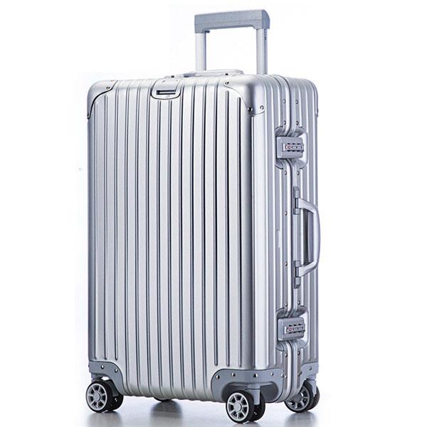 旅行之家(Travelhouse)T1879 24寸全铝拉杆箱 轻盈耐磨万向轮旅行箱行李箱