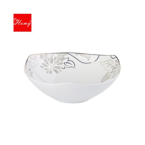 Homy-骨质瓷亚里斯CD6寸碗2件装
