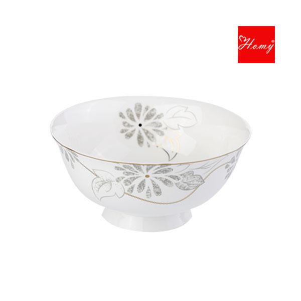 Homy-骨质瓷亚里斯6寸粘足碗2件装