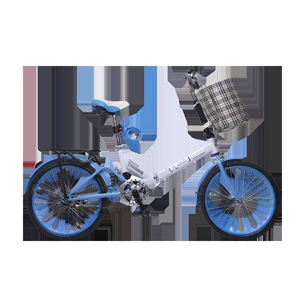 耐嘛 戶外騎行運動休閑旅行 20寸單速自行車折疊車zd20007