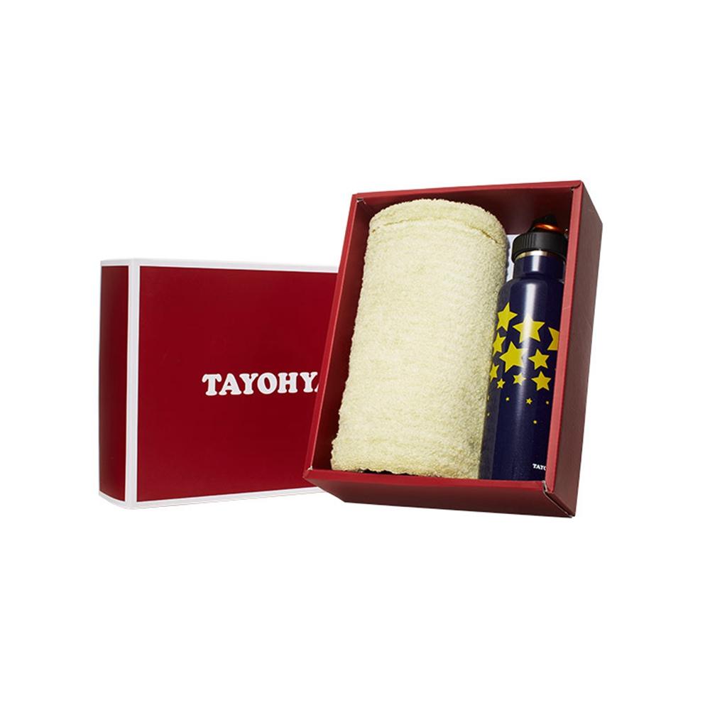 多样屋TAYOHYA保温运动壶+毛巾礼盒