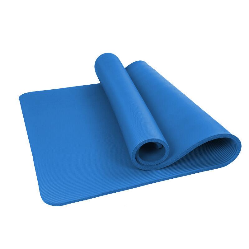 凱速NBR環保 183*61cm加長加寬防滑防潮健身瑜伽墊 10MM
