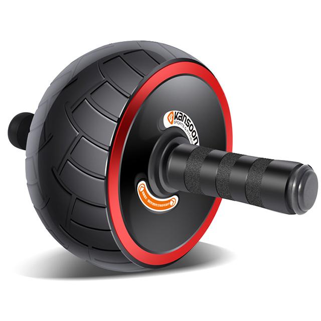 凱速 寬輪健腹輪腹肌輪健身器材贈護膝墊
