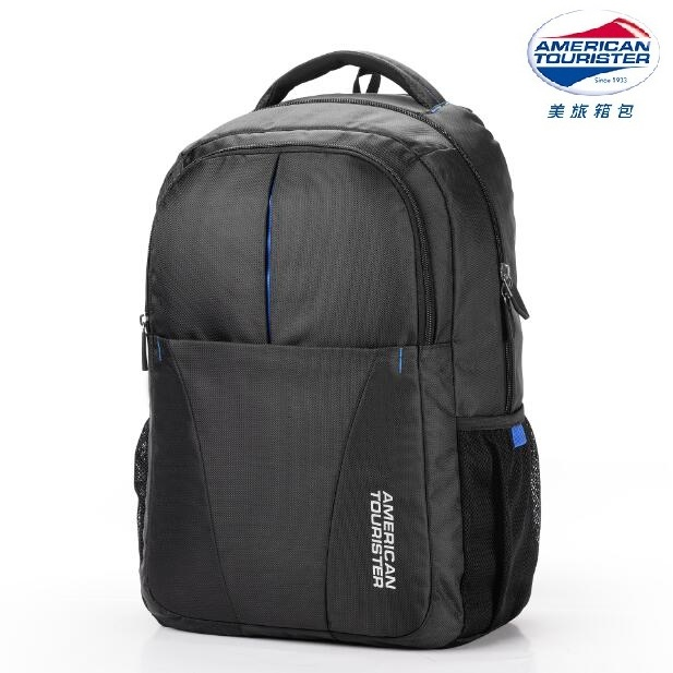 美旅American Tourister 双肩包商务电脑背包37Q*09001黑色