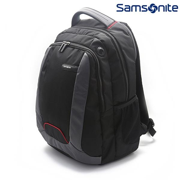新秀麗(Samsonite)雙肩包多功能商務背包旅行電腦包664*29014黑色