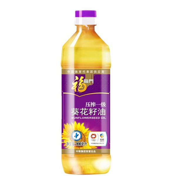 福臨門非轉基因壓榨葵花籽油 900ml