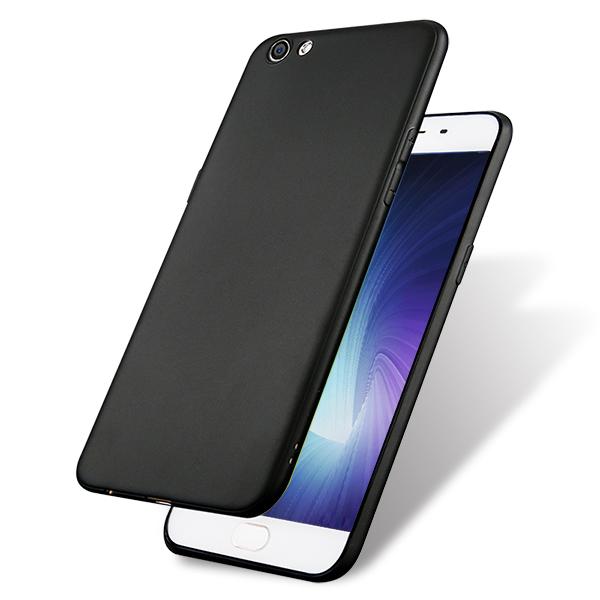 颐电ANODE OPPO R9S Plus手机壳 防摔耐磨 适用于oppo r9s plus手机 黑色