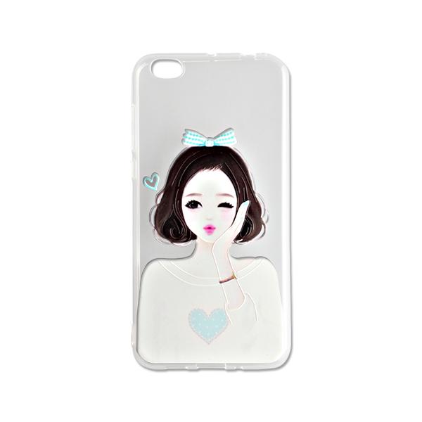 颐电ANODE  小米5c手机壳 透明保护套防摔硅胶软套男女适用 适用于小米5C