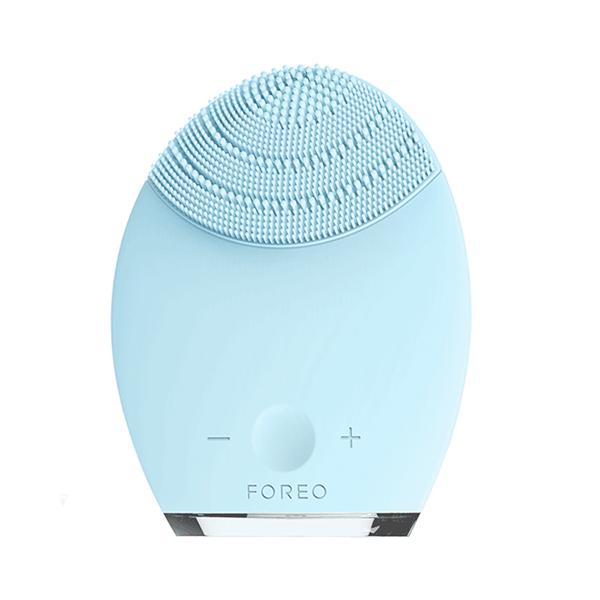 斐珞尔(FOREO)LUNA净透舒缓硅胶电动洁面仪luna 1代(蓝色)