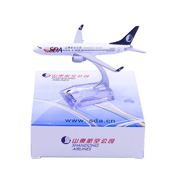 山航飛機模型 737-800 1:300