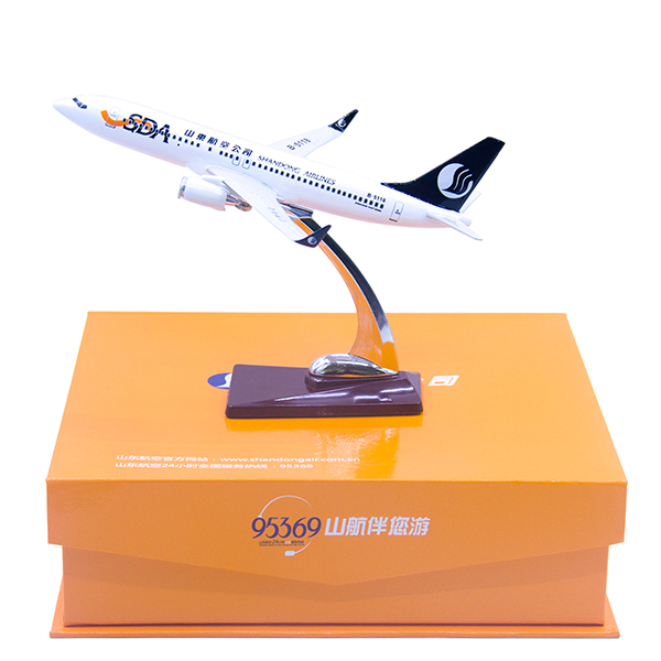 山航飛機模型   737-800   1:200