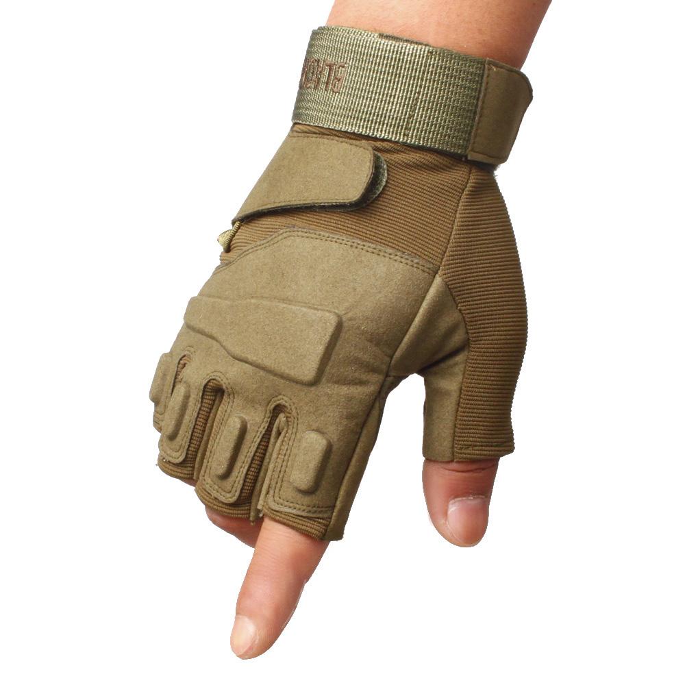 圣苏萨娜健身运动户外登山透气护腕舒适耐磨男士骑行半指手套
