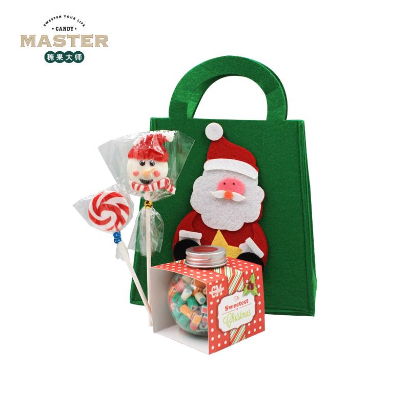 糖果大师candy master澳洲手工糖果圣诞节可爱礼袋礼物棒棒糖儿童圣诞