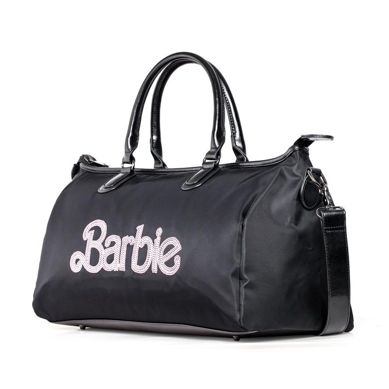 芭比/Barbie 斜挎手提旅行包亮片字母(大包) BBFB601