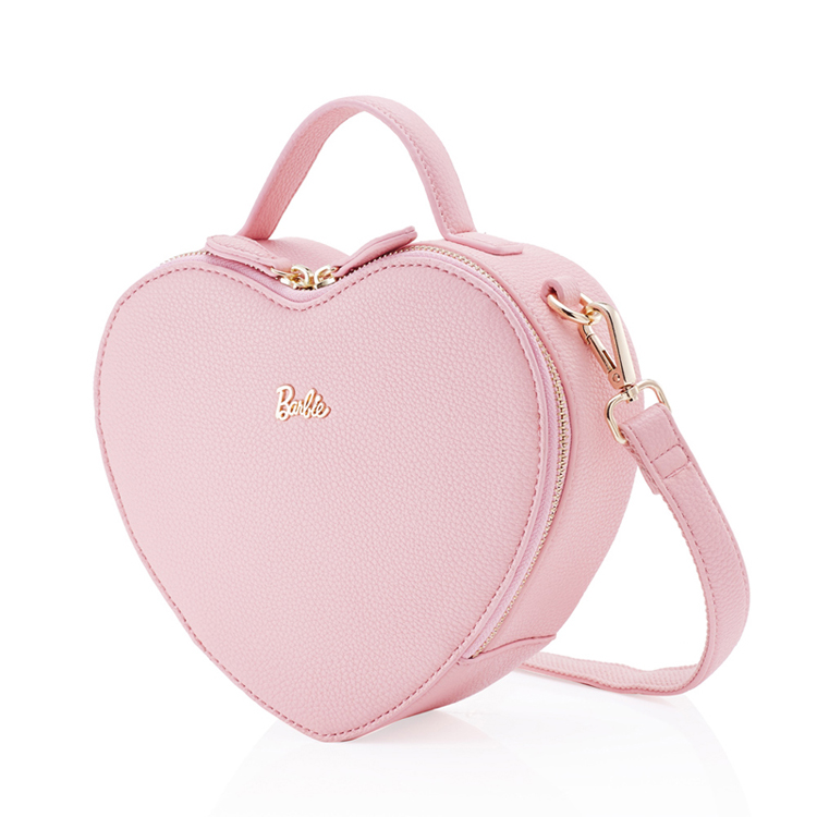 芭比/Barbie 斜挎单肩手提包可爱甜美心形BBFB425