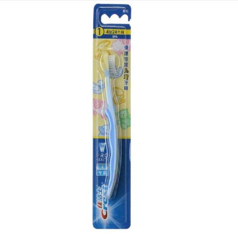 佳洁士(Crest) 阶段型儿童牙刷 适合4至24个月 套装2只装