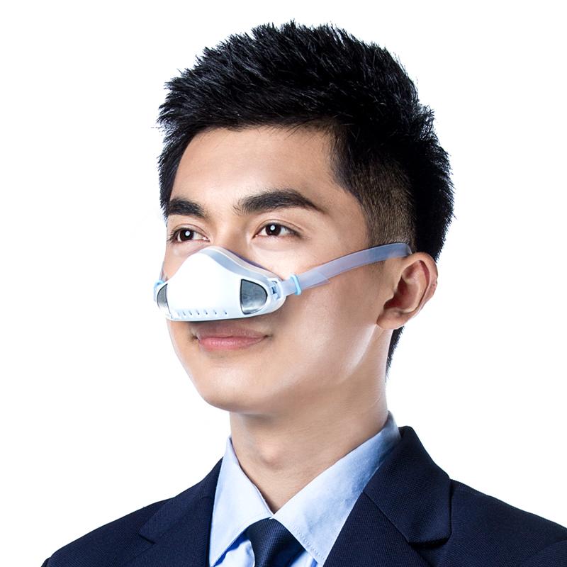 霾星人防霾鼻罩防PM2.5防护口罩 防花粉口罩 不起雾的口罩透气