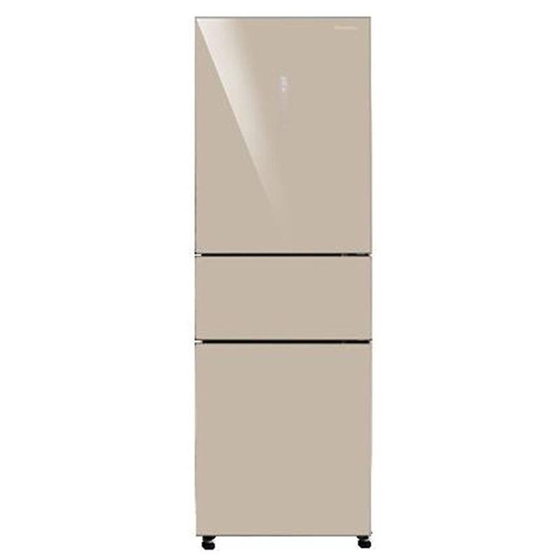松下(Panasonic)冰箱 NR-C32WMG-XN 318L 三门变频无霜 尊雅金