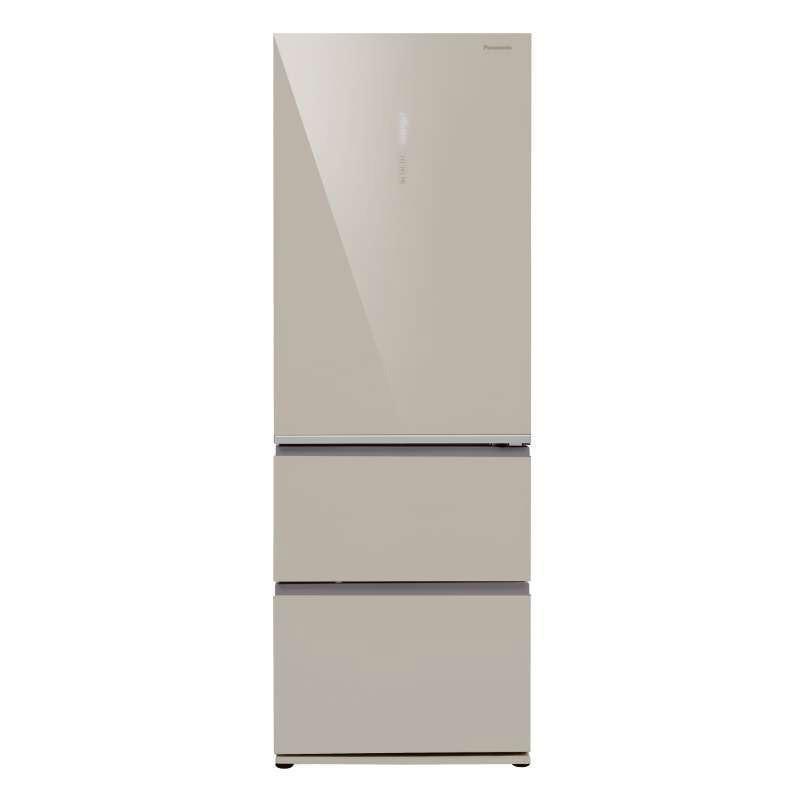 松下(panasonic)NR-C380TX-XN/XW 三门冰箱 变频 风冷无霜380L