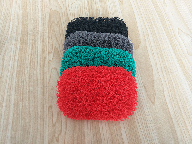 宜恋家纺 环保香皂垫肥皂垫香皂托盘厨房海绵杂物垫便携式香皂垫 颜色