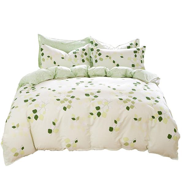 宜戀四件套全棉床上用品床單被套枕套BMN碧水佳人200x230cm