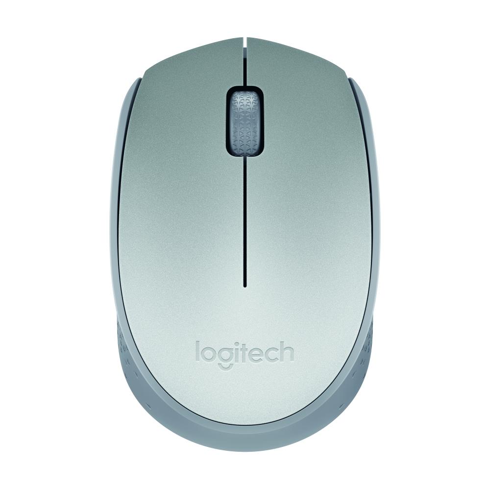 羅技/Logitech M188 銀色商務時尚筆記本電腦無線鼠標