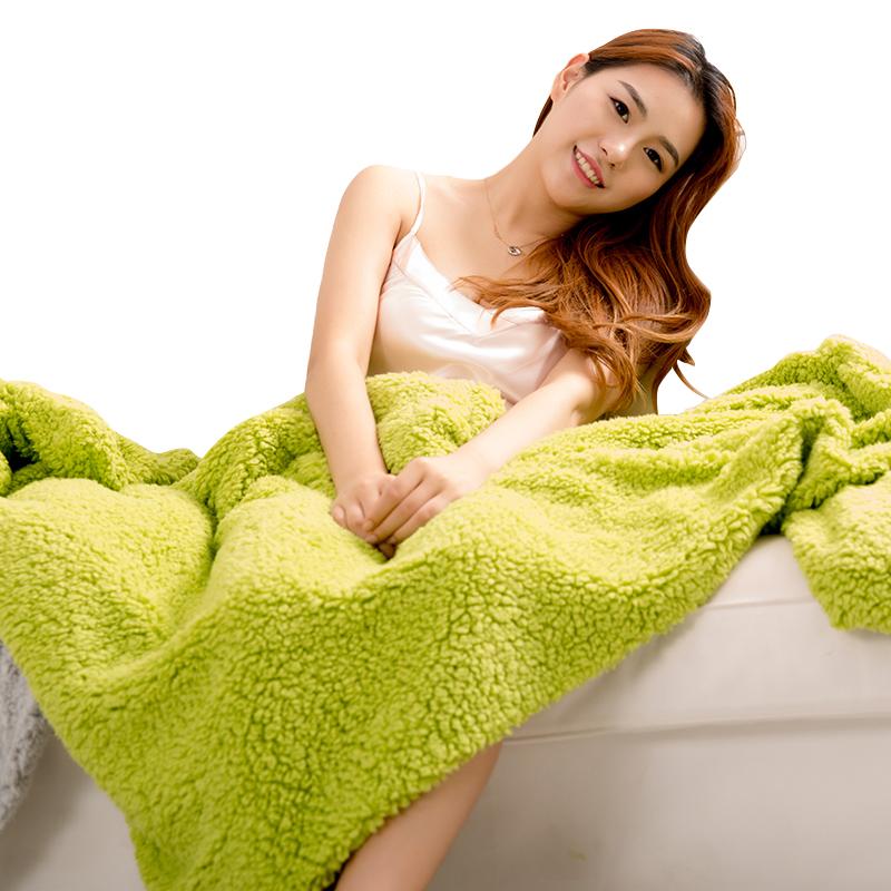 凱詩風尚 舒棉絨羊羔絨披毯 蓋毯 冬季懶人毯 多功能毯