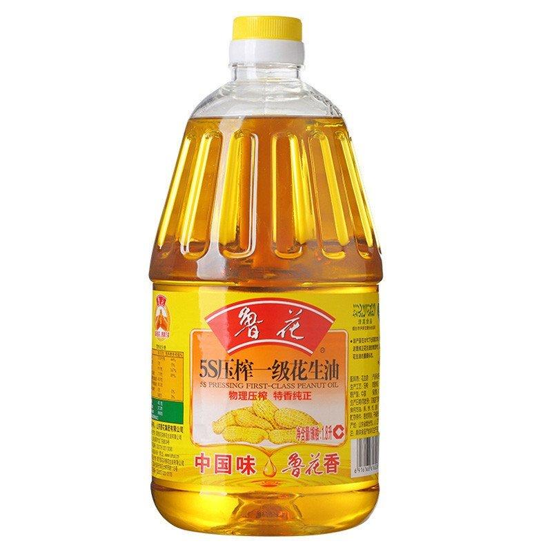 魯花 5S壓榨一級花生油 1800ML