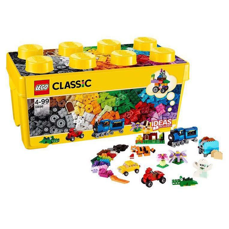 ?#25351;週EGO积木  经典创意中号积木盒10696拼装?#24202;?#22609;料积木儿童益智玩具