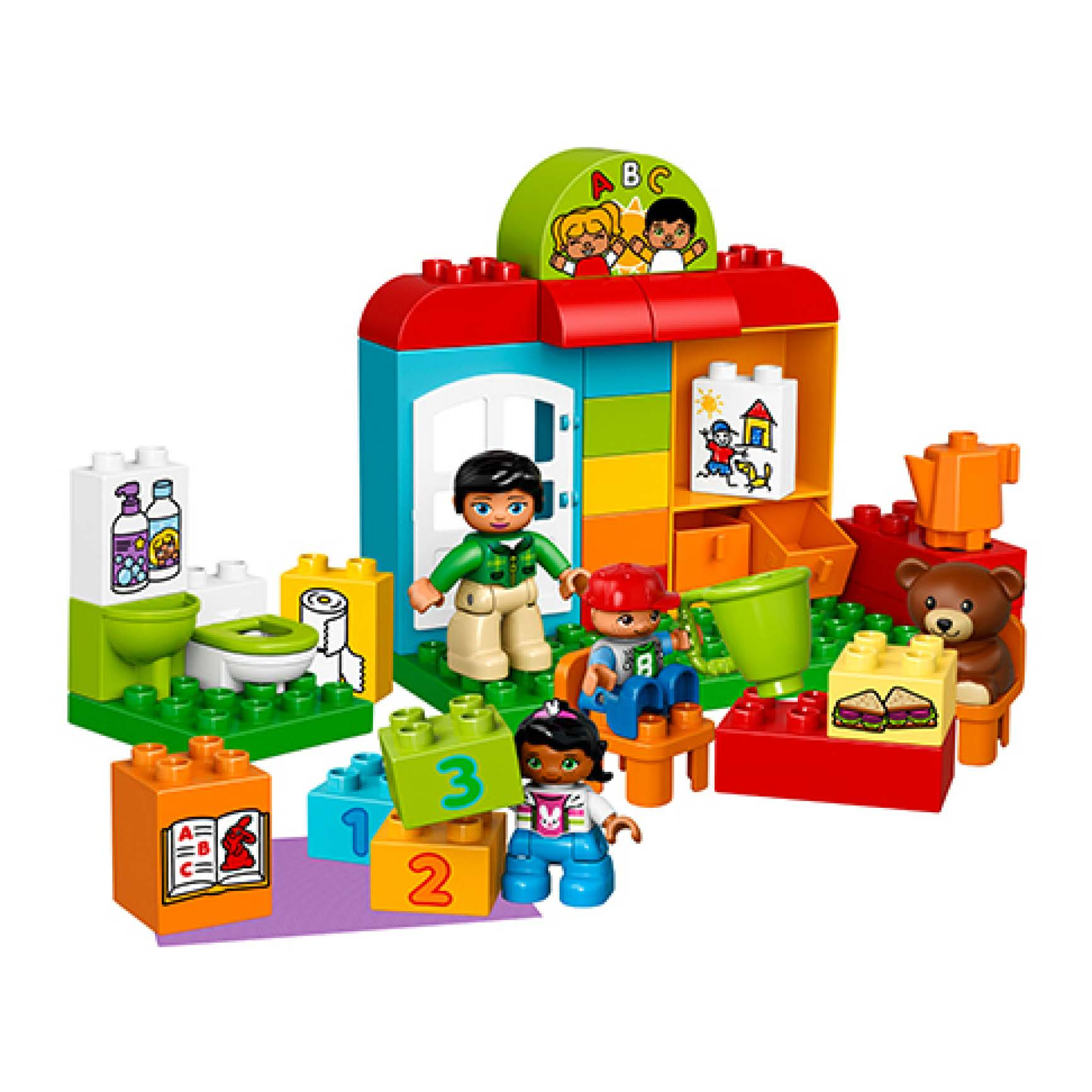乐高得宝系列10833幼儿园 lego duplo 积木玩具