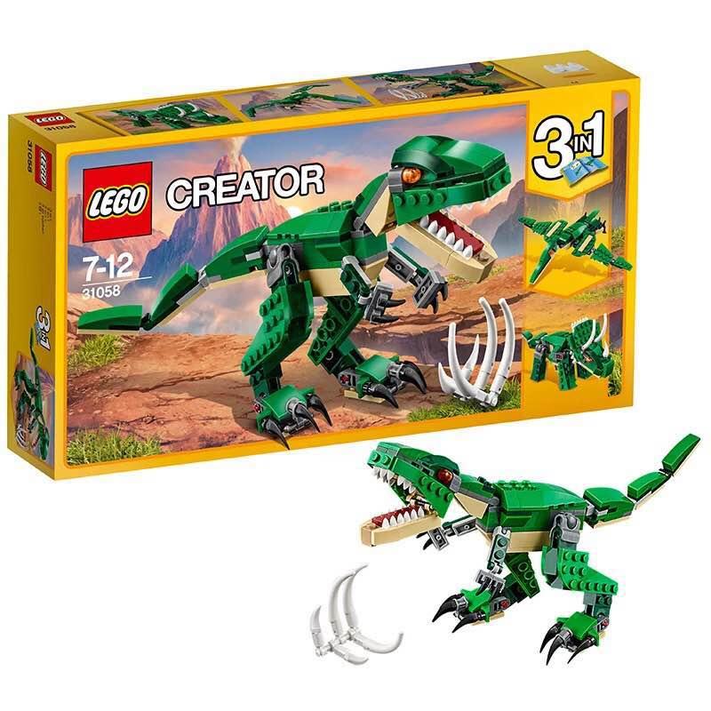 ?#25351;週EGO创意百变系列31058 凶猛霸王龙LEGO 积木玩具