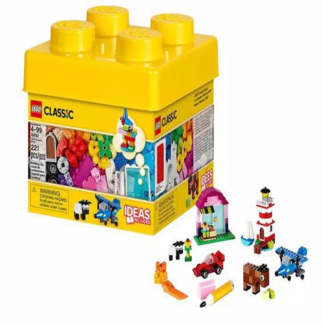 ?#25351;週EGO 经典创意系列积木盒桶装小颗粒?#24202;?#31215;木儿童LEGC10692
