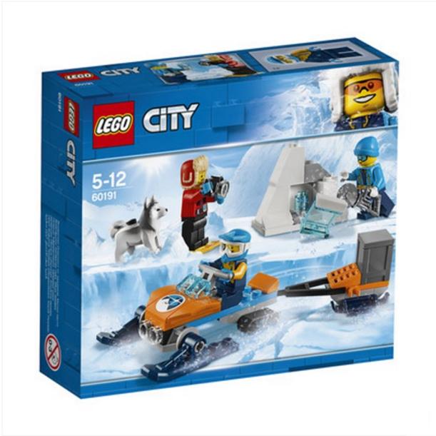 ?#25351;週EGO城市系列极地探险队60191 LEGO 积木玩具