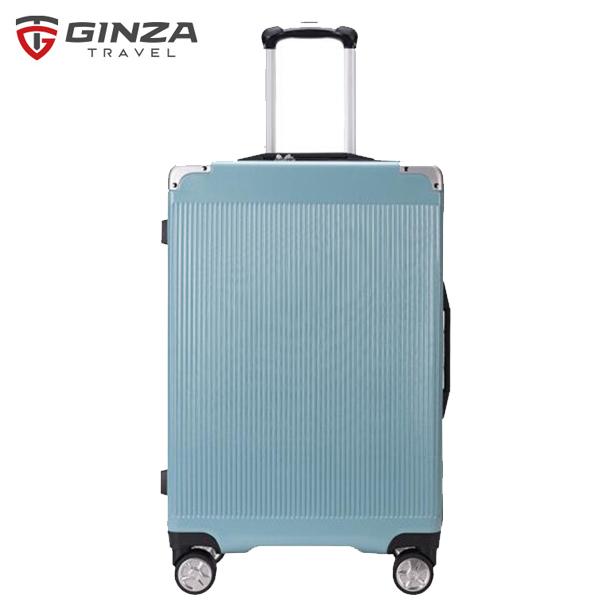 銀座/GINZA 全網首發 歐美出口 拉鏈密碼海關鎖拉桿箱 20英寸男女全球暢游萬向輪登機箱行李箱 9011L