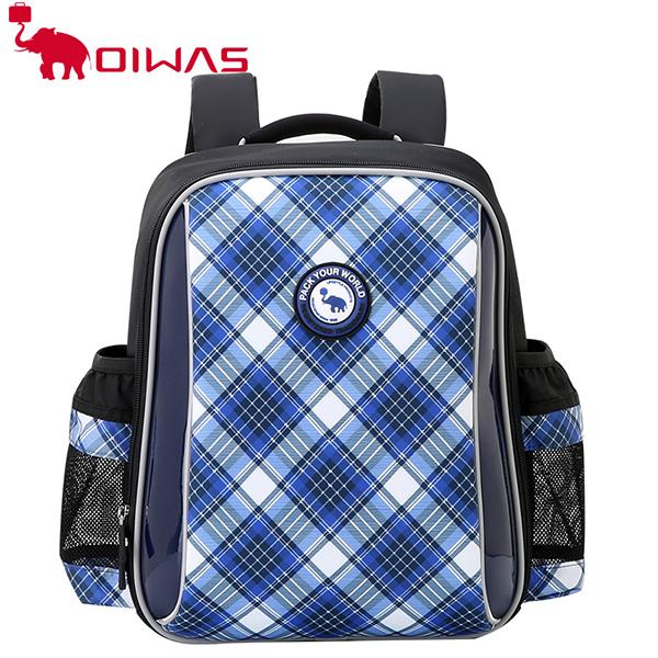 愛華仕(OIWAS)2018春夏新款減負兒童書包雙肩包男女童6-12周歲學生收納背包1-6年級 OCB4363