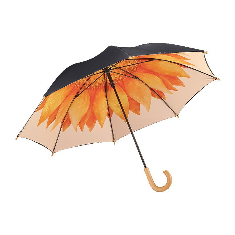 under)泡泡儿童伞直柄遮阳伞太阳伞雨伞晴雨两用伞焦下宝宝可爱雨伞