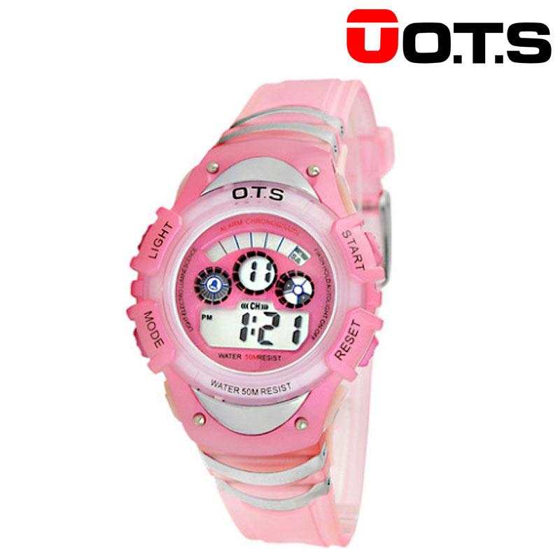 奧迪斯 兒童電子手表 防水夜光手表  833