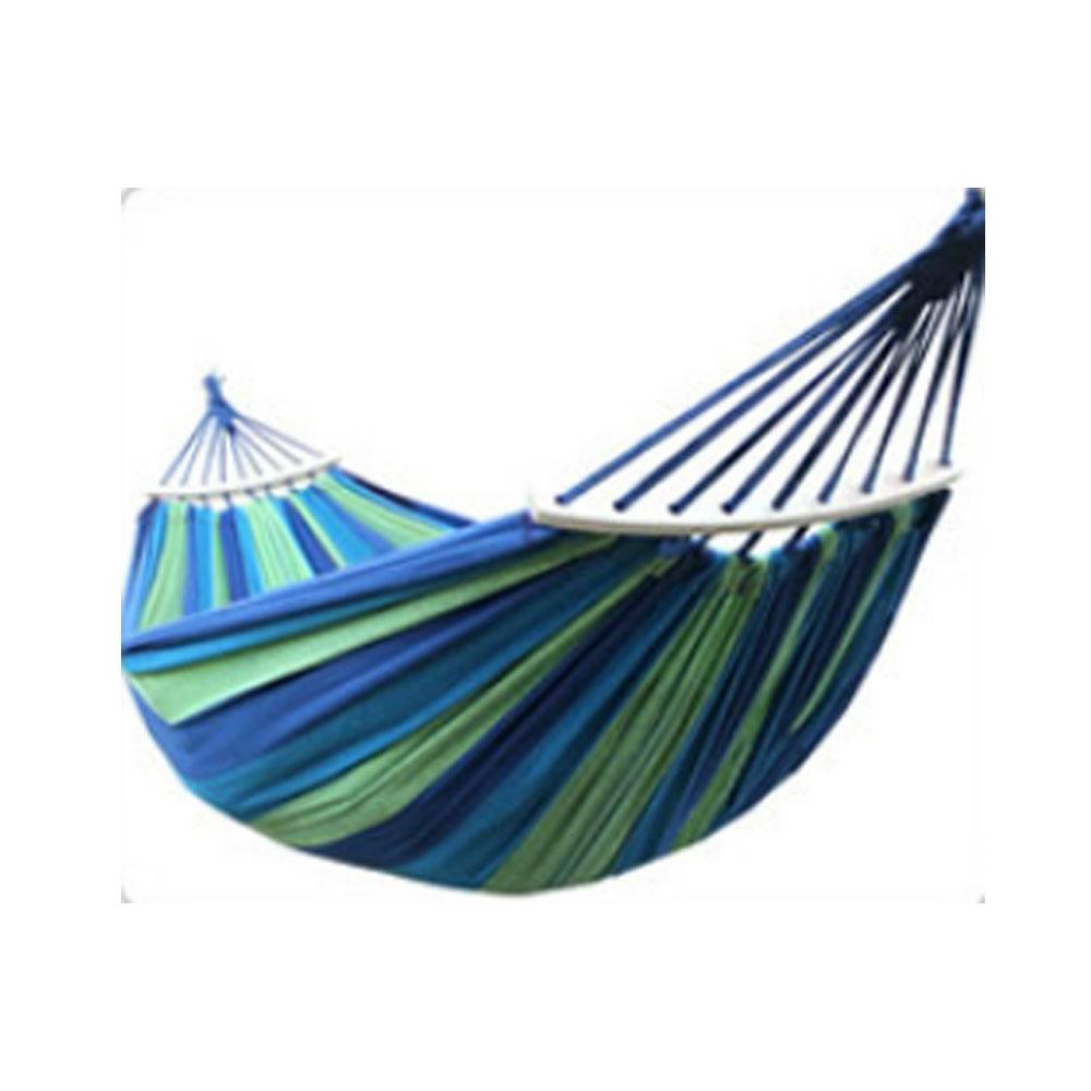 沙漠駱駝 200*80防側翻加棒吊床帶棒加固吊床 顏色隨機 下單備注