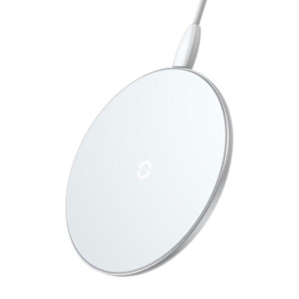 倍思(Baseus) 飛碟 桌面無線充 白色